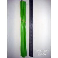 Koteliai  su užvalkalu žaliu , 40 cm., G1073K