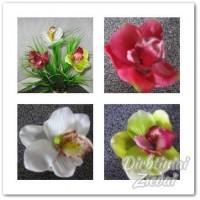 Orchidėjos žiedas kaučiukinis G0433