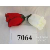 Rožės pumpuras G7064 (likusi balta sp.)