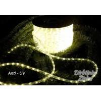 Girlianda laidas 2-jų linijų 30LED/m,11mm, šilta balta, matuojama, Anti-UV, N1729