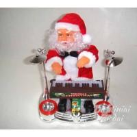 Kalėdų senelis groja pianinu, linguoja N1725