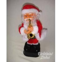 Kalėdų senelis su saksafonu N1724