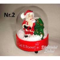 Kalėdų senelis sniego pūgoje N1726