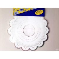 Servetėlės puokštėms, balta sp., 50 vnt, 40 cm., GW140