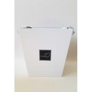 Dekoratyvinė dėžutė, balta sp., G1919