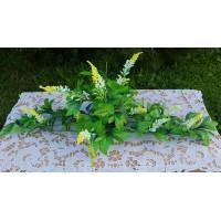 Gėlių padėklas su chrizantemų lapais  G1585