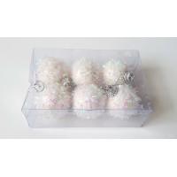 Eglutei žaislai maži, 6 vnt., 3 cm., N2122