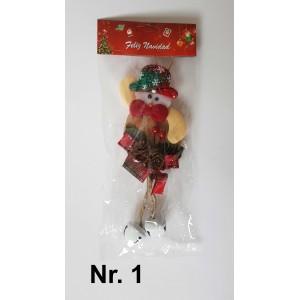 Kalėdų senelis medžiaginis Nr.1,  N2125