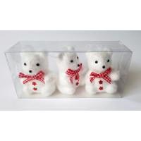 Eglutei žaislai meškiukai, 3 vnt.,  N2120