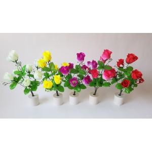 Rožyčių puokštelė 7 ž., G1862