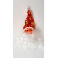 Kalėdų senelis su barzda pakabinamas N2278