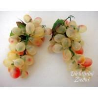 Dekoratyvinė vynuogių kekė šviesi, 15 cm, G1213VB