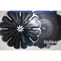 Servetėlės puokštėms 50 vnt, 50 cm., GW150