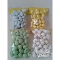 Dekoratyviniai putpelių kiaušiniai 50 vnt/maiš, G1284