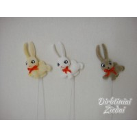 Kiškis ant pagaliuko ilgomis ausimis, 3 sp., GD70781