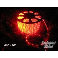 Girlianda laidas 2-jų linijų 30LED/m,11mm, raudona, matuojama, Anti-UV, N1729