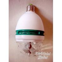 Lemputė LED  Disco, spalvota N1718