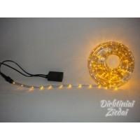 LED girlianda laidas, 10 m., 2-jų linijų, geltona, N9069
